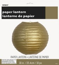 Lantern Decoration In Gold